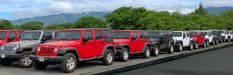 Maui Jeeps Rentals : Airport Locations