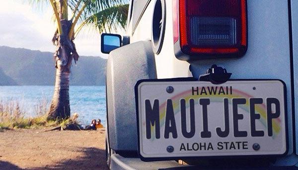 Maui Discount Jeep Rentals