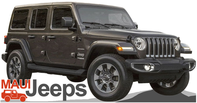 Maui Jeeps Rentals : Jeep Choices